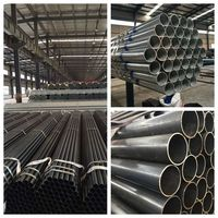Black steel pipe for water