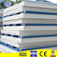 High Strenth And Light Weight 120mm Eps Roof Sandwich Panel Polystyrene Composite Panel For Prefabricated House
