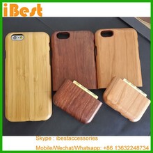 Ibest cherry mobile hot selling sapele wood case for iphone 6, for iphone 6 wooden case,for iphone 6 wooden cell phone case