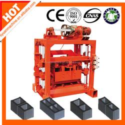 QTJ4-40B2 Construction Cement Brick Molding Machine Concrete Hollow Brick Making Machine Bricks Machine Production Line