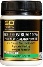 GO Healthy GO Colostrum 100% Pure New Zealand Powder 100g