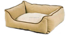 Walled pet bed furniture for dogs