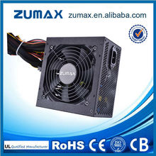 CCC ZUH550 Gold Plus facrory warranty ATX dual output power supply 12V
