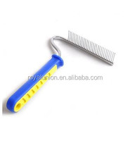 2015 New Product stylish design dog massage pet grooming brush