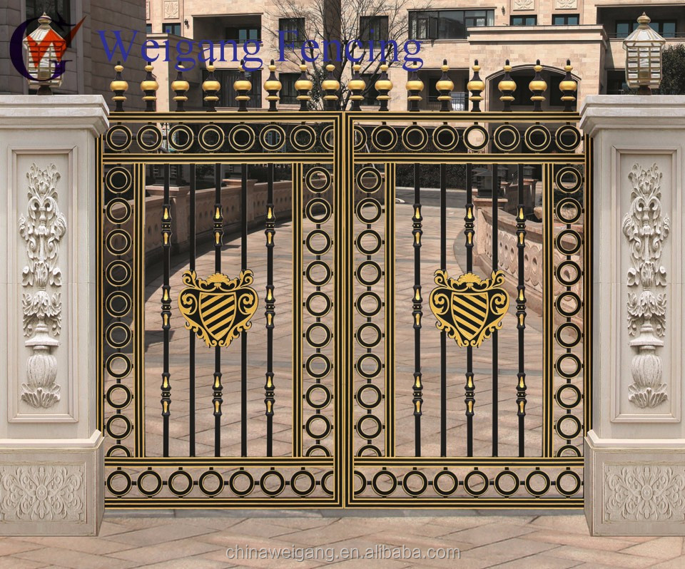 Steel Wall Compound : Compound wall gate joy studio design gallery best