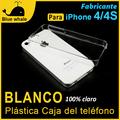caso en blanco cubiertas celulares para tapa trasera iphone 4
