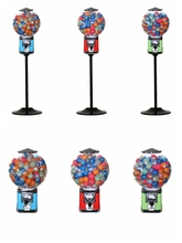 Factory price bouncy ball /gumball/candy machines with stand
