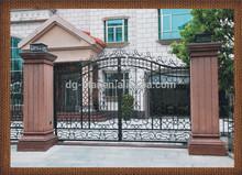 wrought iron main gates design/ wrought iron gate