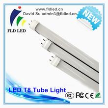 2014 New Design High Lumen yellow t8 led tube light