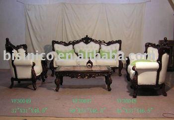 french provincial living room sofa set
