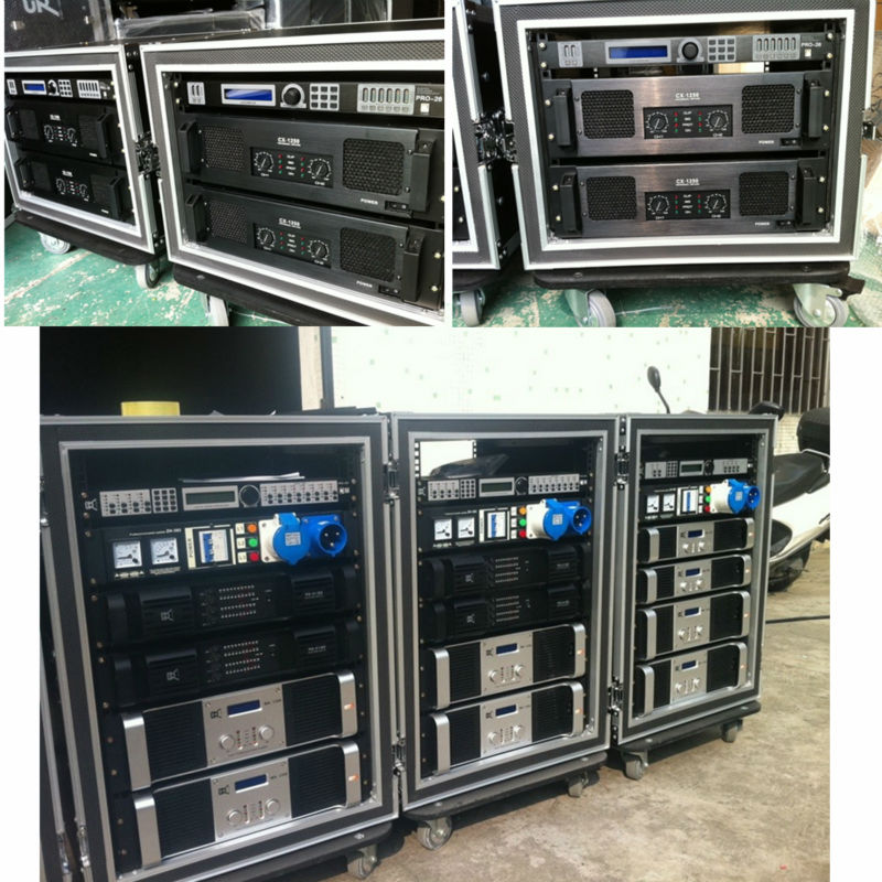 disco club audio installation   strong power amplifiers