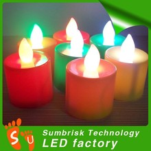 China factory wholesale flameless fashion party candle