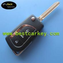 Calidad Superior nuevo 3 botones de auto dominante elegante 433 mhz 859XFT toy43 para toyota llave inteligente remote