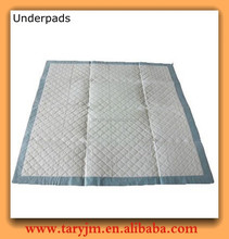 Hot new products for 2015 customized size for hospital disposable underpad