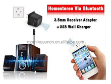 Bluetooth Music Receiver + USB travel charger