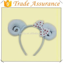 hot sale red sheep bow head hoop sheep ear headband accessories for kid
