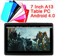 AllWinner A13 android tablet pc cheap 7-inch touch