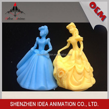 Factory Promotion New design soft cartoon girl toy figures