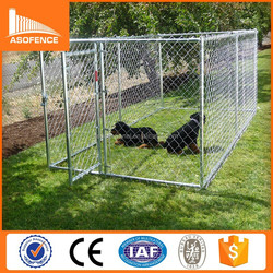 2015 hot sale large out door dog kennel wholesale (Direct factory)