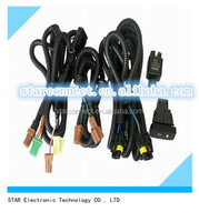 Super quality switch on off road electrical auto car fog light wiring cable harness assembly