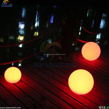 Large Size Plastic Color Changing LED Ball for Sales