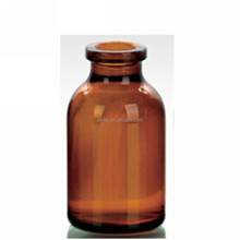 20ml amber glass vials for injection with rubber stopper