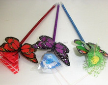 2015 Novelty Pens/Butterfly Ball Pen with Feather