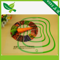 New design plastic table mat