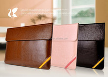 Newest Fashion design luxury Pu leather envelop sleeve case for Macbook Air/pro HH-MBA01-3