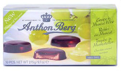Anthon Berg Grape in Muscat Wine Fruit in Marzipan Danish Chocolates