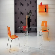 Transparent furniture luxury nice acrylic table legs