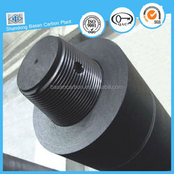 Good thermal conductivity regular power graphite electrode for smelting iron