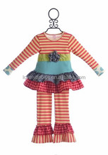 wholesale childrens clothing sets boutique girls outfit 2015 fall