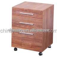 modern small home office wooden File cabinet