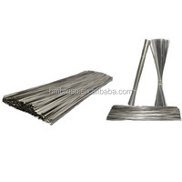 Flat steel wire for road sweeper brush