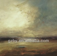 2014 Hot Sale Famous Abstract Landscape Paintings Art