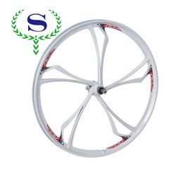 YSW wheel rims integrated with 5 spokes for mtb
