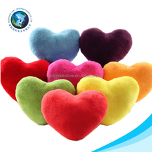 2015 Colorful toy valentine gift pillow plush soft stuffed red heart cushion