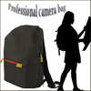 unisex fashion Waterproof PVC material special new style dslr camera bag
