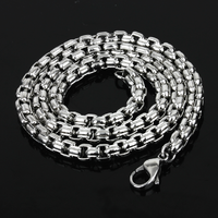New fashion stainless steel fancy long chain necklace