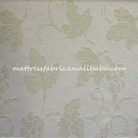 China manufacturer fashionable item CY 1102-6B green bamboo polyester knit jersey fabric for pillow top mattress topper