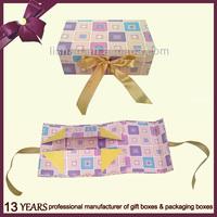 Hot Sale Custom Beautiful Foldable Gift Packaging Paper Box