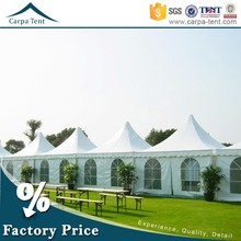 portable easy to assemble gazebos pagoda party tent 4*4m