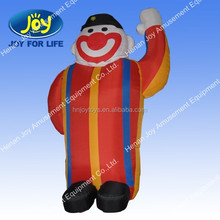 The adornment of the inflatable Buddha model
