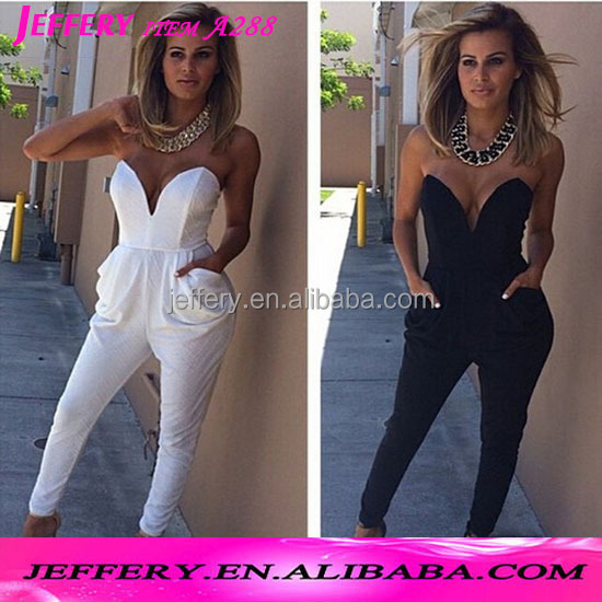 White pants suit for women sexy