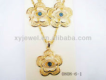 Lucky Eye Jewelry Necklace Known to Ward Off Evil, Jewelry Trendy Style Gold Plated, Perfect for Every Occasion, Gift and