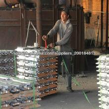 puro lingote de aluminio
