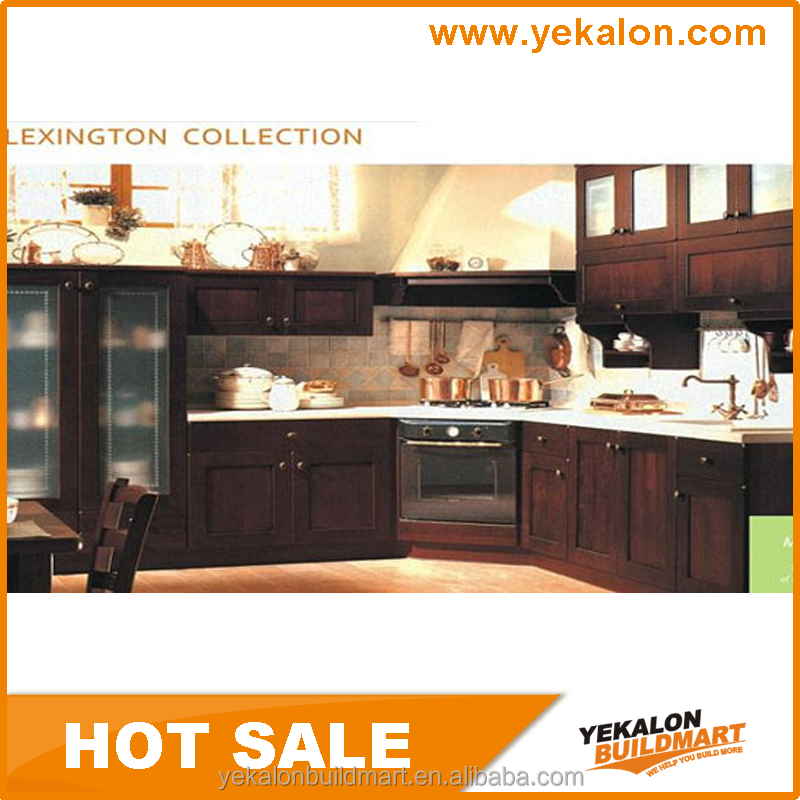 Yekalon 2015 hot sale ghana prefab lacquer kitchen cabinet for Kitchen cabinets ghana