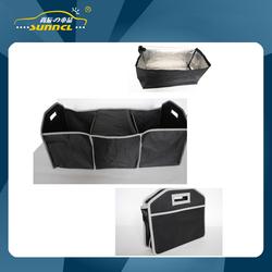 Black Color Car Boot Car Trunk Organizer