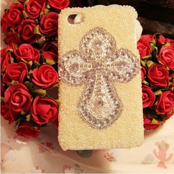 Bohemia phone case decoration rhinestone beads cover case for Iphone 5s/5c/4/4s